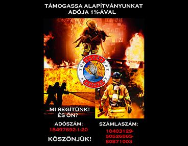 Tűzoltókért alapítvány
