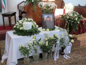 Molnár Péter temetés